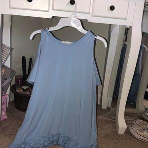 Blue no shoulder